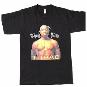 Other - Tupac Thug Life Graphic Screen Tee Black